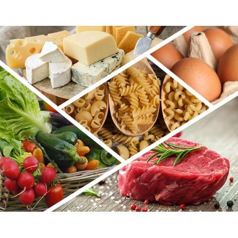 Colis essentiel avec légumes