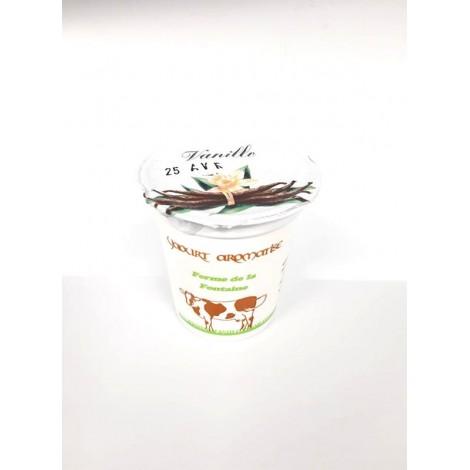 Yaourt 125 gr Vanille