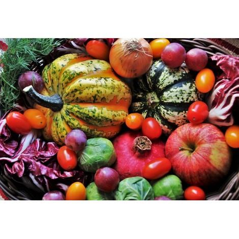 Panier de légumes Régionaux