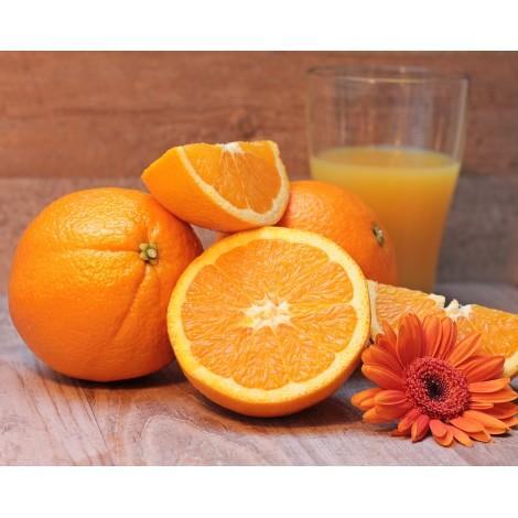Orange Bio vendue par 500 gr