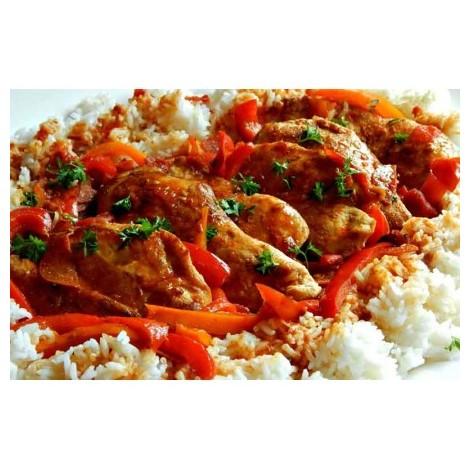 Poulet basquaise - riz...