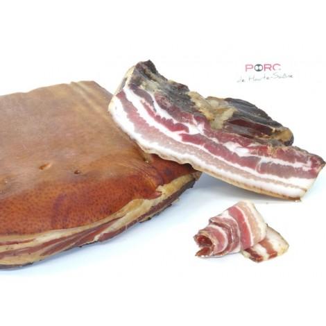 Lard fumé porc de Haute-Saône